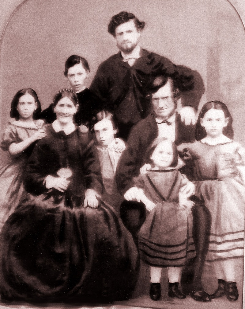 Joseph Simpson and family