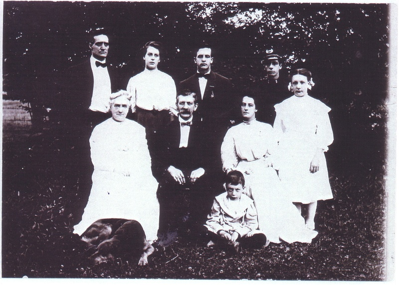 Joseph Overend and family